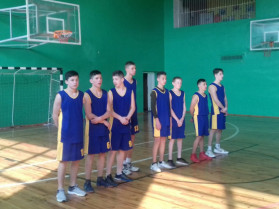 Юні баскетболісти