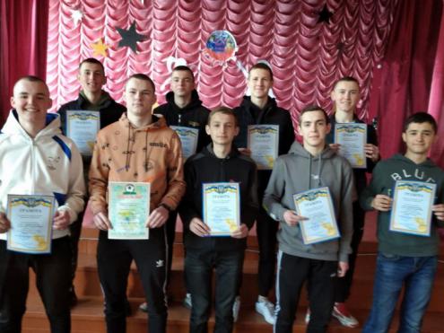 Юні спортсмени селища Ратне