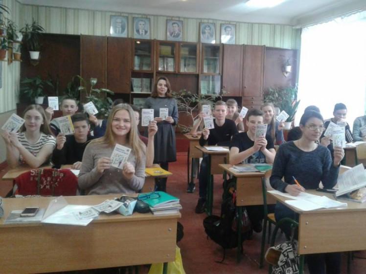 Школярам Ратнівського району розповіли про вибір професії