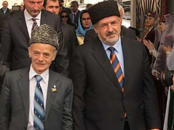 Рефат Чубаров та Мустафа Джемілєв