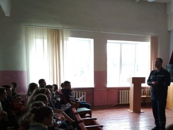 У Самарах рятувальники поспілкувалися зі школярами