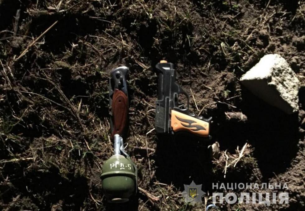 Вилучена «іграшкова» зброя