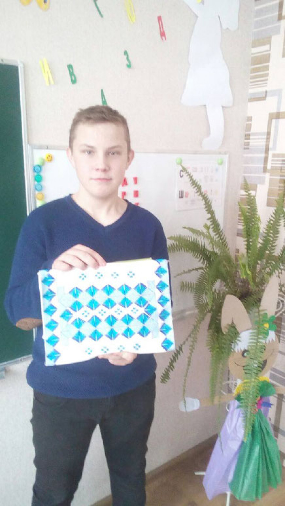Ратнівський семикласник