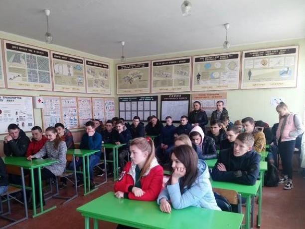 Ратнівським учням розповіли як запобігти епідемії туберкульозу