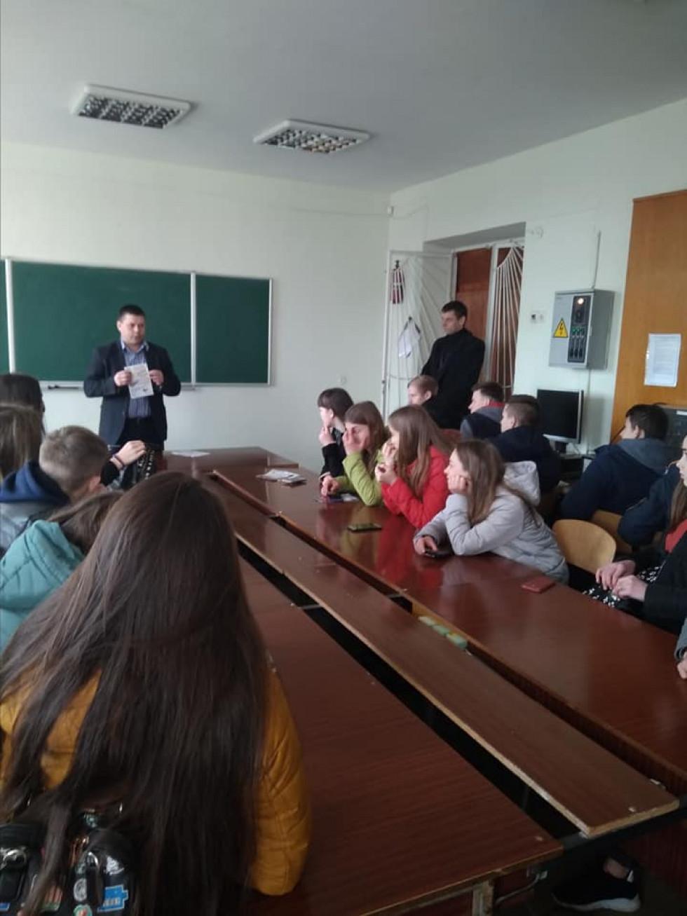 Прохідські школярі у вищому навчальному закладі