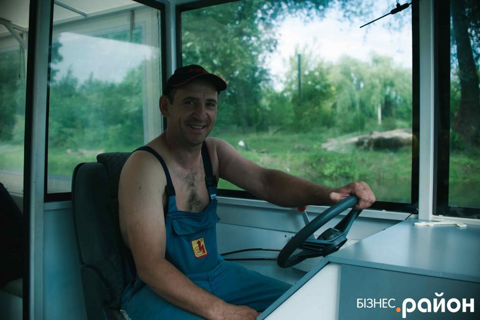 Тимур Чебан, власник прогулянкового катера