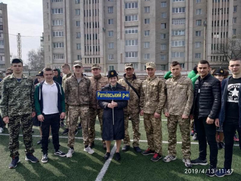 Команда Ратнівського району