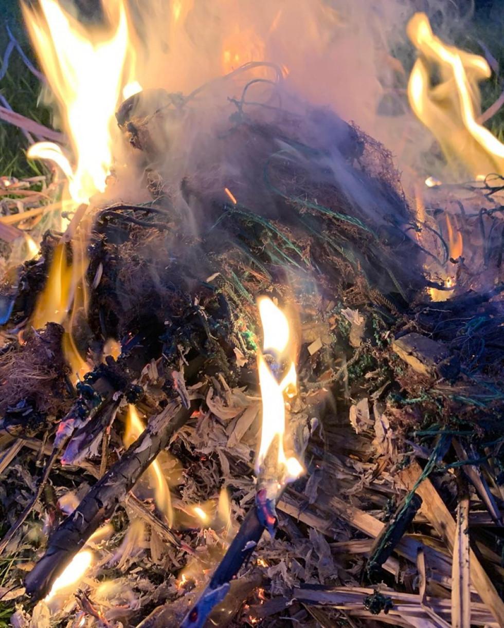 Знищення браконьєрських сіток