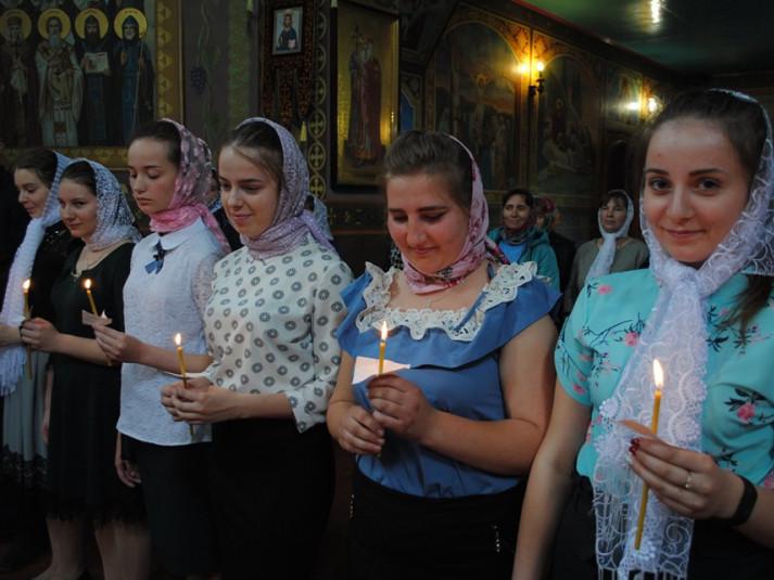 У Гірниківському храмі молилися випускники