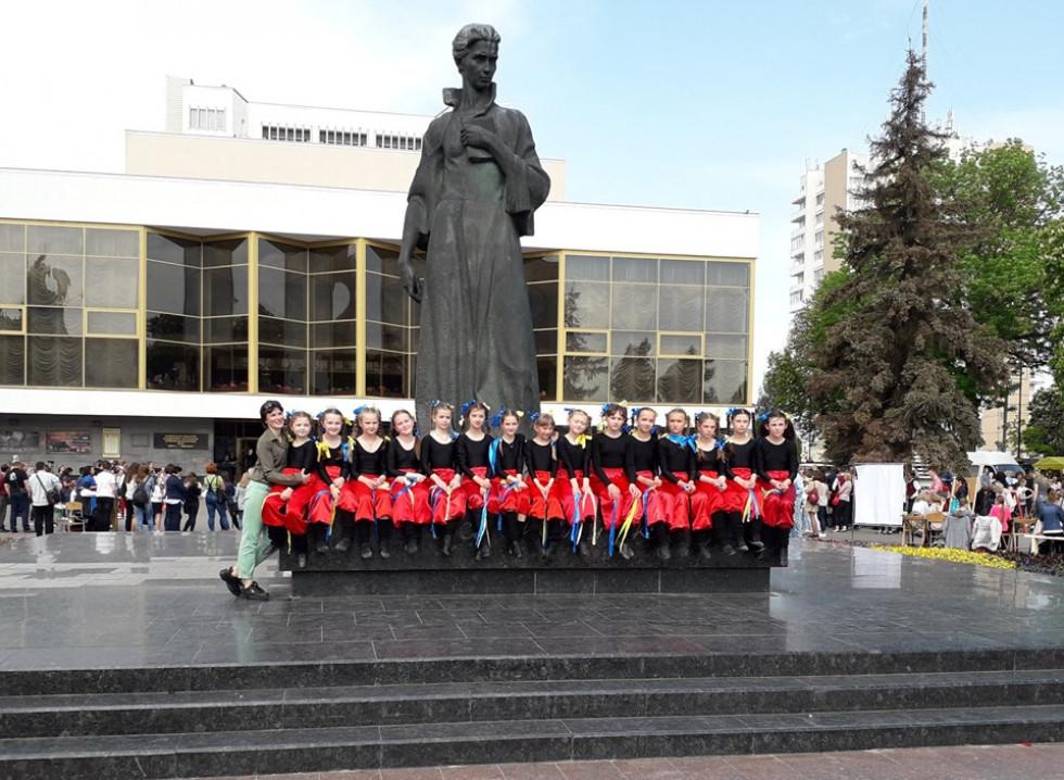 Танцювальний колектив Ратнівщини