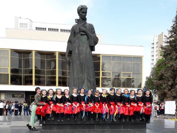 У Луцьку фестивалила молодь Ратнівщини