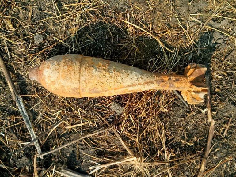На Ратнівщині знайшли боєприпаси часів Другої світової війни