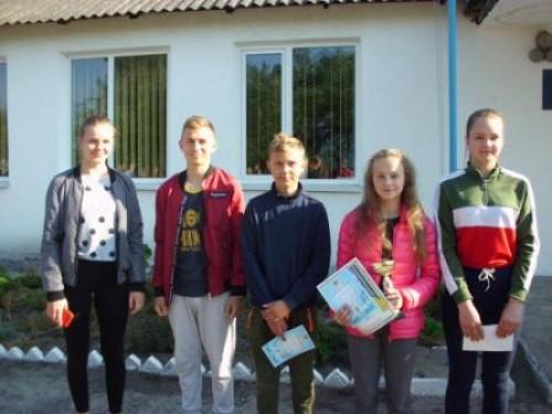Юні спортсмени села Самари-Оріхові