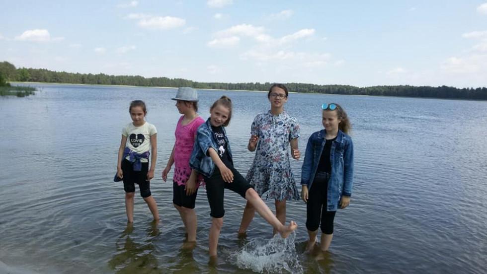 Учні мали нагоду похлюпатися у воді