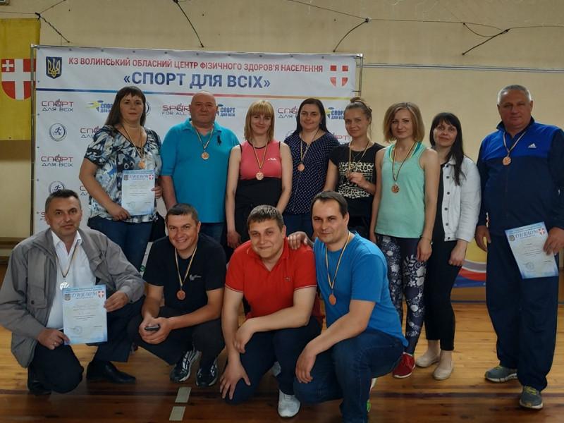 У Володимирі змагались державні службовці Ратнівщини