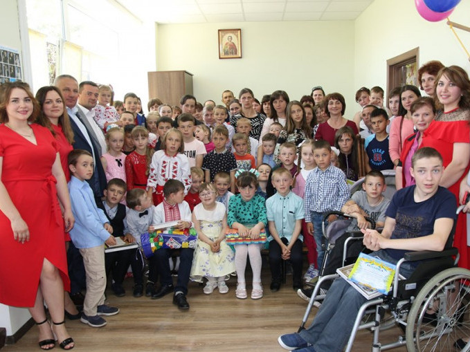 У Ратнівському інклюзивно-ресурсному центрі влаштували свято для дітей
