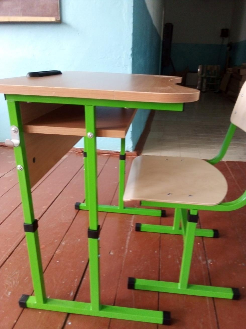 Нові меблі для школярів