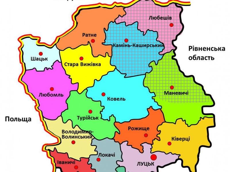До кінця року Україна може отримати мапу районів