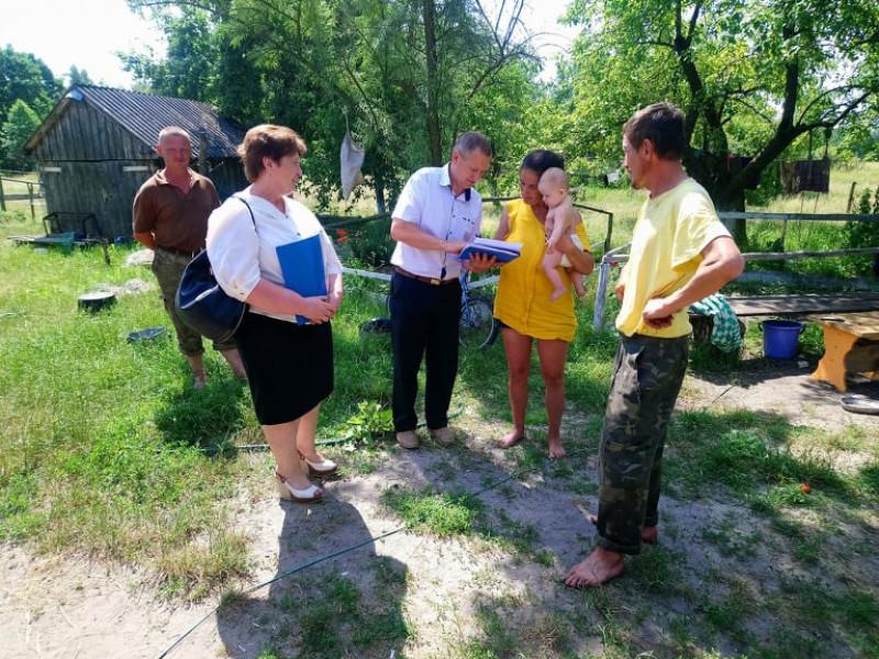 У Самарівскій ОТГ перевіряли сім'ї