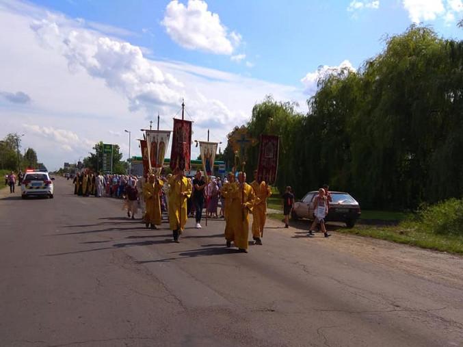 Хресний хід до Почаєва 2019