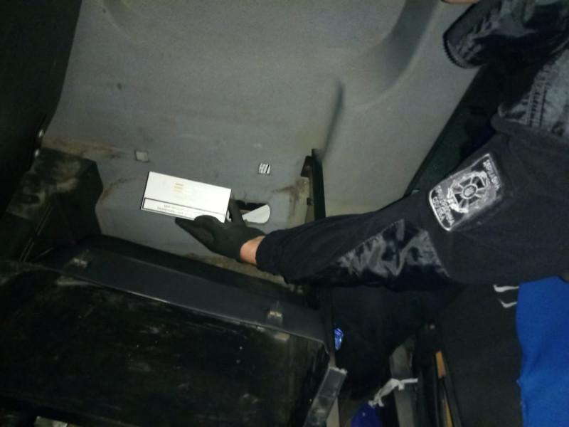У рейсовому автобусі виявили контрабанду