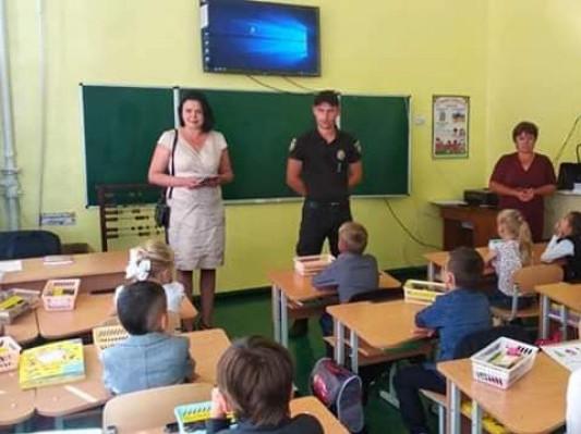 На Ратнівщині поліцейські провели урок для школярів