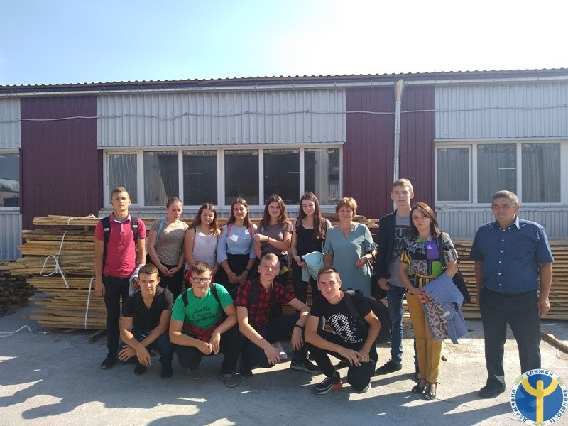 Ратнівські школярі побували на екскурсії у ТзОВ «Спільний ліс»