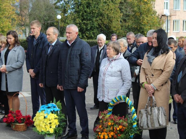 На Ратнівщині вшанували пам'ять загиблих під час Кортеліської трагедії