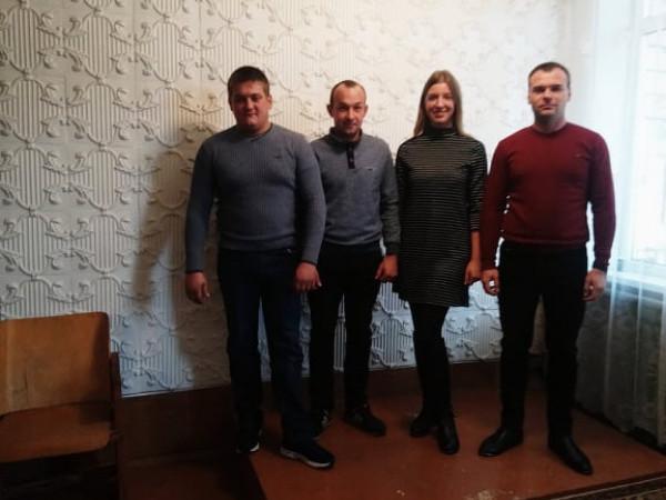 У Кортелісах соцслужби привітали сім'ї учасників АТО із Днем захисника України