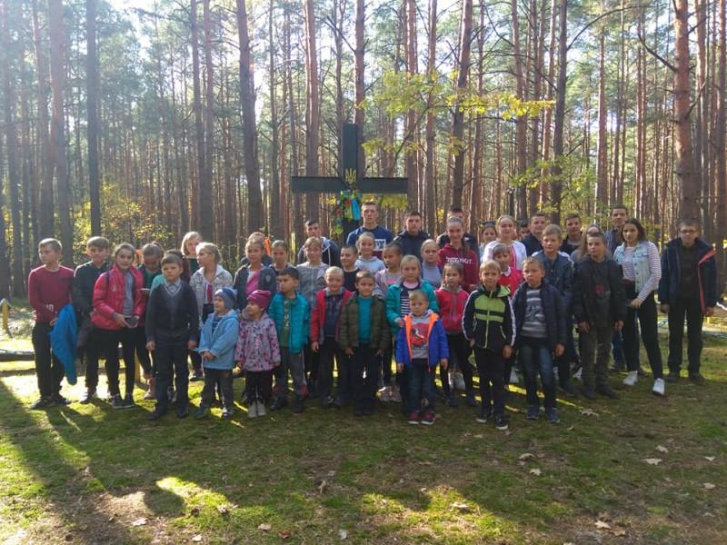 На Ратнівщині вшанували пам'ять загиблих борців за національну ідею