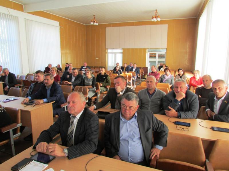 Під час сесії районної ради