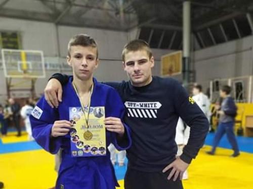 Самарівський дзюдоїст здобув срібло на змаганнях у Тернополі