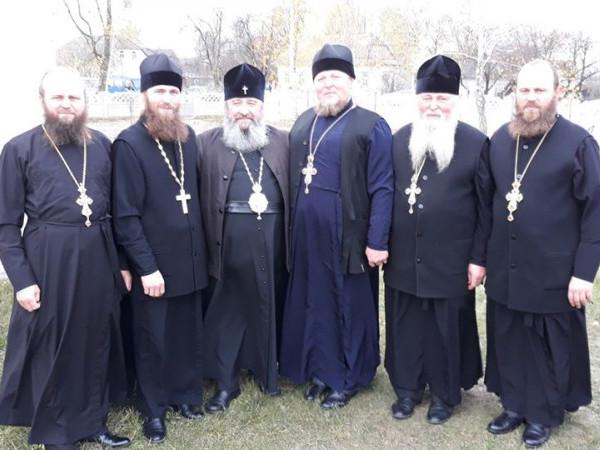 Благочинні Ратнівського району разом із митрополитом Володимиром