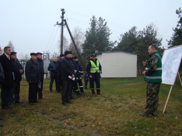 На Ратнівщині рятувальники «ліквідовували» повінь