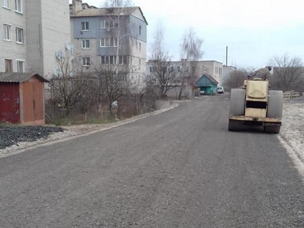У Ратному відремонтували вулиці