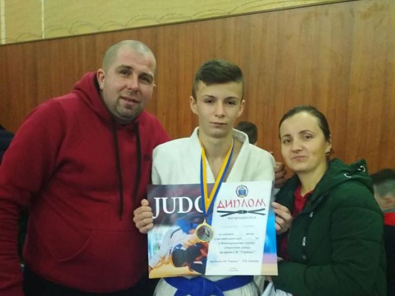 Самарівський дзюдоїст виборов «золото» на міжнародному турнірі