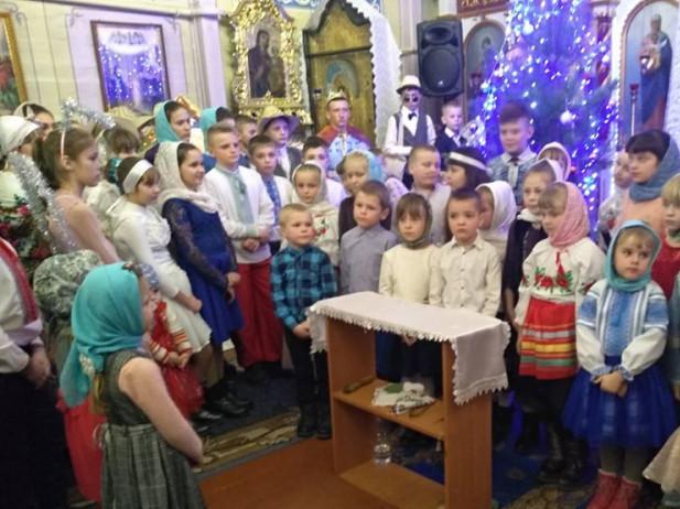 У церкві села Здомишель колядували