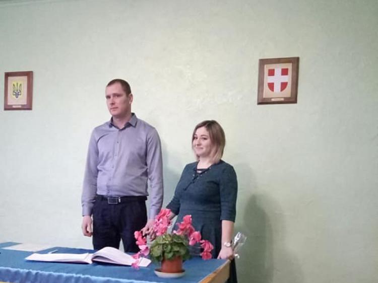 Микола Свіржевський та Юлія Ющук
