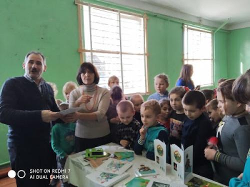 Поступельські школярі познайомилися із творчістю відомої української письменниці