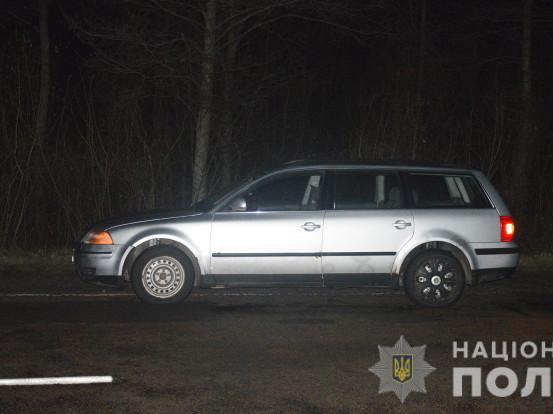 У Ратнівському районі авто насмерть збило пішохода