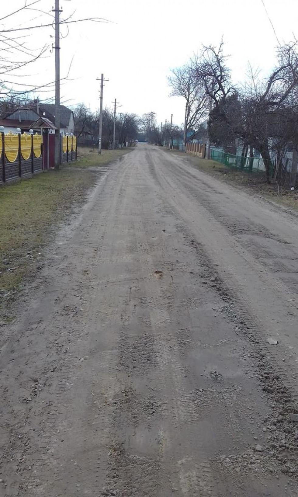 Грейдерована дорога