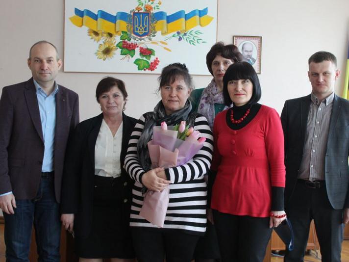 Марія Бойко та представники влади