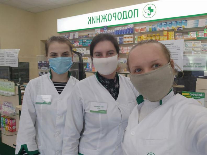 Працівниці ратнівської аптеки