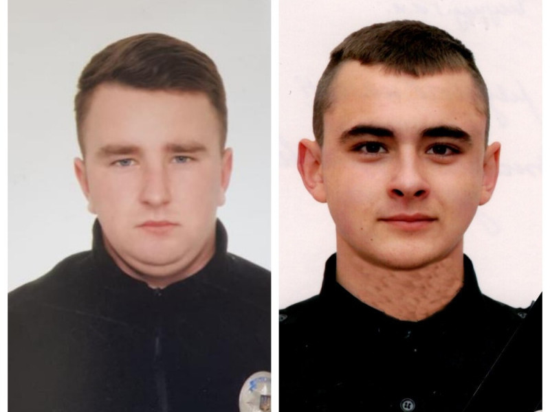 Загиблі поліцейські