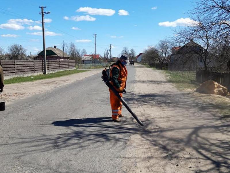 У Заболоттівській громаді ремонтують дорогу