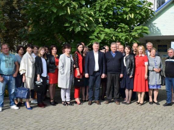 Команда партії «За майбутнє» у Заболотті