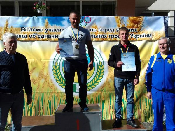 Спортсмен Самарівської громади – переможець Всеукраїнських спортивних змагань з гирьового спорту.