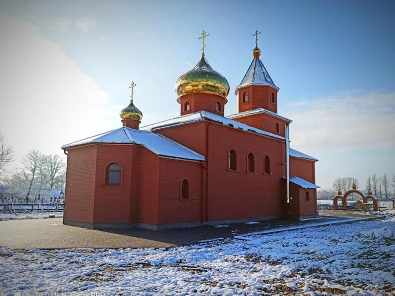 Церква Амфілохія Почаївського у селі Мельники-Річицькі