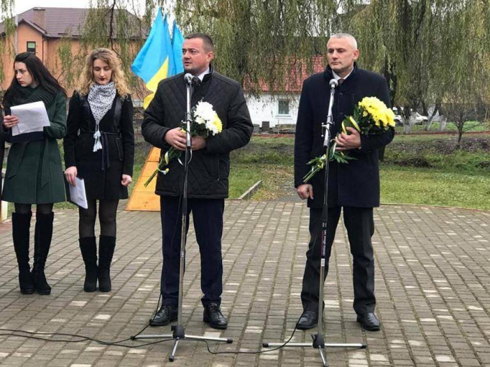 Андрій Харалампович розповідає про важливість вшанування загиблих героїв