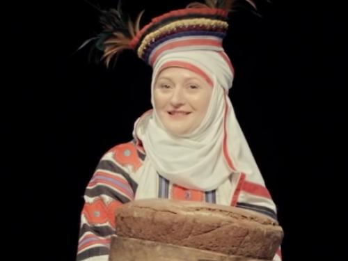 Приклад обрядового вбрання ратнівської свахи